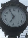Image for Martinsburg Town Clock - Martinsburg, Pennsylvania