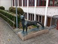 Image for Dog Statue at the School Gym - Bubendorf, BL, Switzerland
