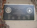 Image for Martin Luther King Jr Park Rotary Plaque  - Sausalito, CA