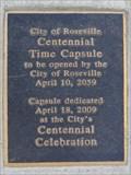 Image for City of Roseville Centennial - Roseville, CA