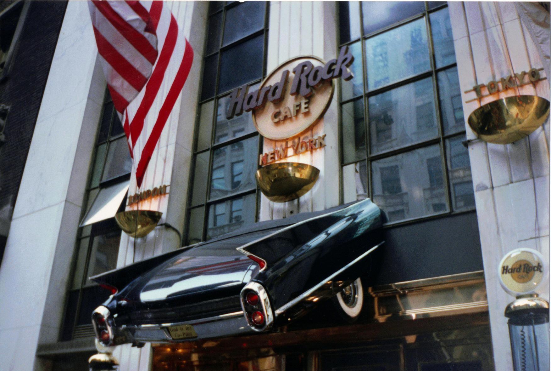 Hard Rock Cafe New York  New York Ny