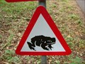 Image for Toad Crossing Sign - RSPB, Sandy, Bedfordshire, UK