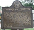 Image for Confederate Cemetery - GHM 033-107 - Marietta, Cobb Co. GA