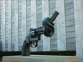 Image for Non-Violence Sculpture - United Nations, NY