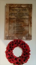 Image for Memorial Tablet - St Andrew - Peatling Parva, Leicestershire