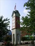Image for Warehouse Row Clock Tower ~ Chattanooga Tennessee