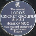Image for Second Lord's Cricket Ground - Lisson Grove, London, UK