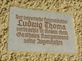 Image for Ludwig Thoma - Prien am Chiemsee, Lk Rosenheim, Bayern, Germany