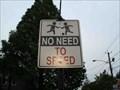 Image for Unusual Speeding Signs - Barrington, NJ