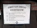 Image for First Courthouse (and other Firsts too)  -  San Diego, California