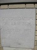Image for 1957 - Congregation Schaarai Zedek - Tampa, FL