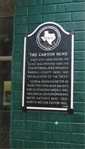 Image for FIRST - City Newspaper - Canyon, TX