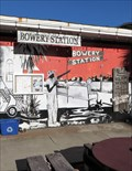 Image for Bowery Station - Mural - Apalachicola, Florida, USA.
