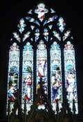 Image for Stained Glass, St Thomas a Becket, Northaw, Herts, UK