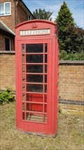 Image for Red Telephone Box - Leesthorpe Road - Pickwell, Leicestershire
