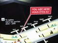 """Image for Toronto Pearson International Airport """"You are here"""" by T1 Gate 160"""
