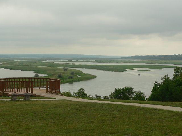 Missouri River Overlook at Springfield, SD