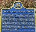 Image for FIRST - Resident Anglican Clergyman - The Rev. John Stuart 1740-1844