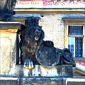 Image for Lion on the bridge in Roudnice nad Labem, Czechia