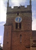Image for St.Mary's Clock, Cubbington, Warwickshire.