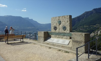 French Alps Geologists Memorial