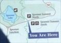 Image for Marlette Lake Trail sign - Spooner Summit, Nevada