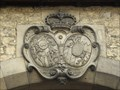 Image for Principal coat of arms of Thurn and Taxis at Helenentor, Regensburg - Bavaria / Germany