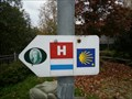 Image for Way Marker - Saalebrücke in Schwarzenbach/Saale/  BY, Germany