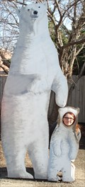 Image for Henry Vilas Zoo - Polar Bear Cutout - Madison, Wisconsin