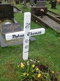 Image for Dylan Thomas - Grave - Laugharne, Carmarthenshire, Wales.