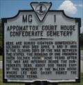 Image for Confederate Cemetery - Appomattox, VA