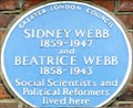 Image for Sidney and Beatrice Webb - Netherhall Gardens, London, UK