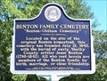 Image for Benton Family Cemetery - Alabaster, AL