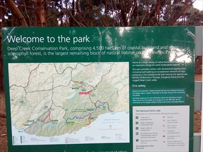 The map and sign of the Park.1541, Tuesday, 29 May, 2018