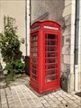 Image for Red Telephone Box - Luynes, France