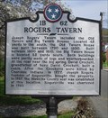 Image for Rogers Tavern ~ 1B-62, Rogersville, Tennessee