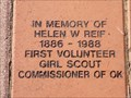 Image for First Volunteer Girl Scout Commissioner of Oklahoma - Edmond, OK