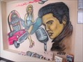 Image for Elvis & Marilyn Mural at Angel's Diner, St. Catharines, ON