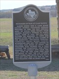 """Image for """"Prisoner of War Camp Historical Marker at Camp Bowie to be Dedicated Monday"""" - Brownwood TX"""