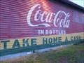 Image for Coca Cola Bottle Mural - Bon Aqua, TN