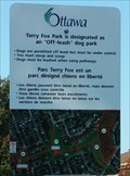 Image for Terry Fox Park - Off-leash area, Ottawa, Ontario, Canada