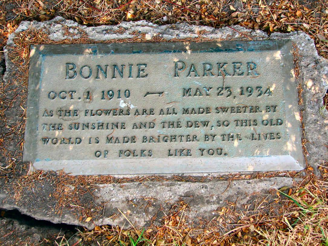 Bonnie Parker Grave