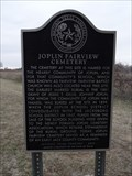 Image for Joplin Fairview Cemetery