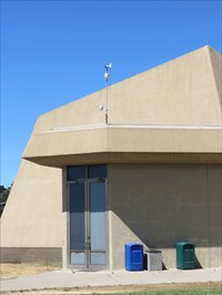 LHS Weather Station, Setting on Building, Berkeley, CA