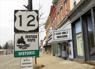 US-12 Historic Heritage Route - Village of Clinton