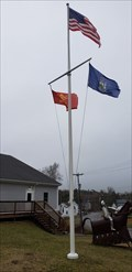 Image for Fire station flag pole - St-George, Maine
