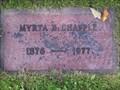 Image for 101 - Myrta Esther Chapple - Ashland WI USA