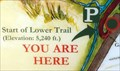 Image for You Are Here - Cedar Creek Lower Trailhead