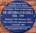 Image for Sir Archibald Russell - Bristol Aquarium, Anchor Road, Bristol, UK