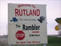 Image for Welcome to Rutland, South Dakota